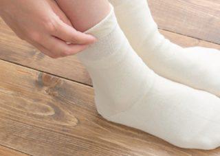 天然繊維100%の靴下